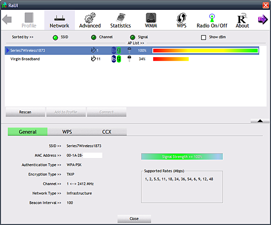 Ralink RT61 Turbo Wireless LAN Card Drivers Download
