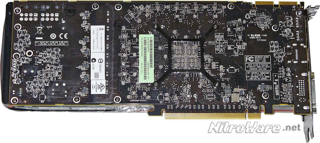HD7970 3GB Reference card - Back side