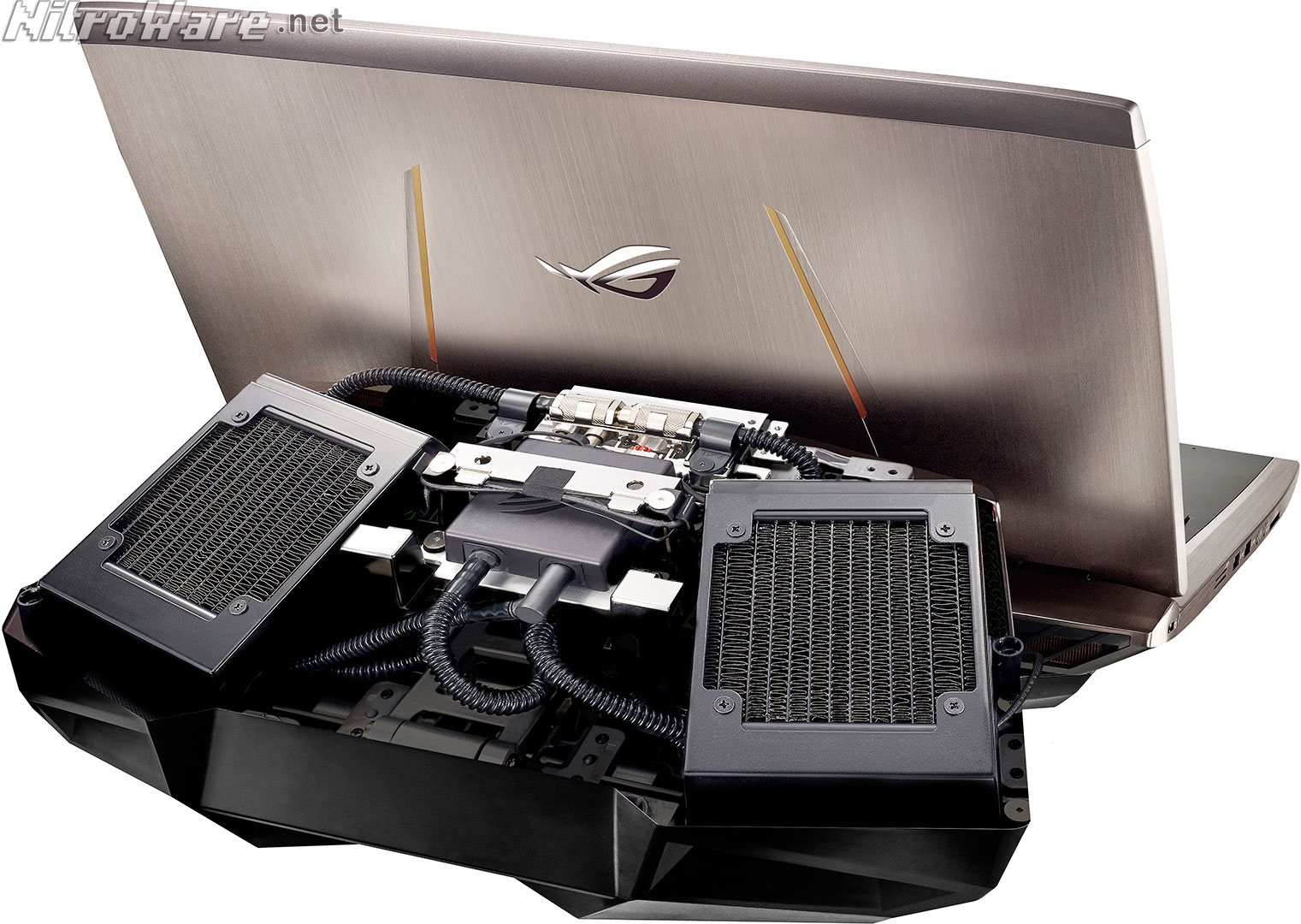 Computer Cooling System : Nitroware asus rog gx liquid cooled gaming laptop