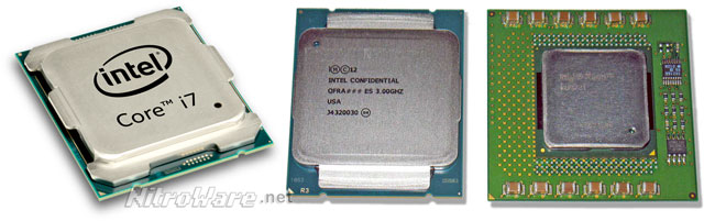 Broadwell-E and Haswell-E CPU packages