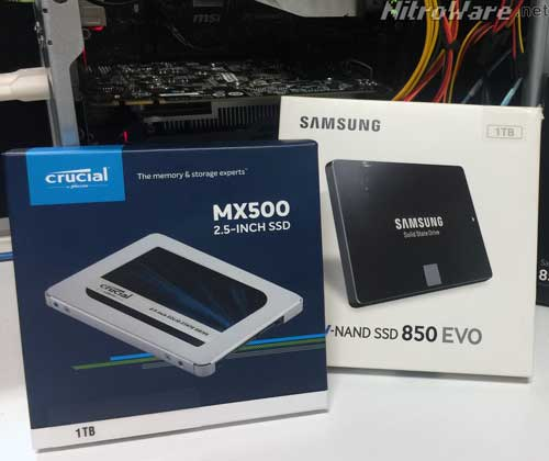 crucial mx500 1Tb sata ssd review, crucial mx300 ssd review, samsung 850evo ssd review, intel series 520 ssd review, samsung 860 evo ssd review, samsung 860 pro ssd review
