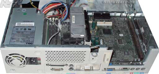 Dell Optiplex GX1 chassis with integrated 3Com 905 Networking - 1999