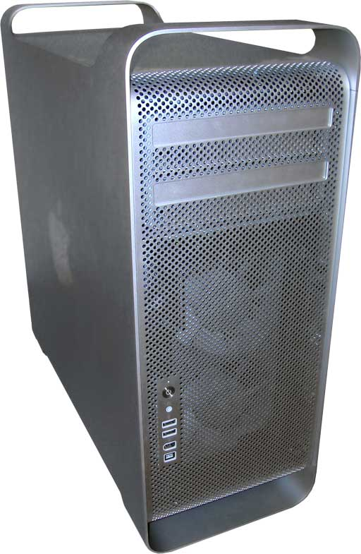 Apple Mac Pro Workstation,which features dual integrated Gigabit networking as standard - 2006. Photo courtesy of Wikipedia