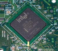 intel 810 chipset, intel are rolling out a new brand name for Haswell's highest graphics which will be included in marketing materials and integrated into the brand ID assets such as Intel chassis ident stickers with slogans along the lines of 'featuring Intel Iris graphics'. If Intel and OEMs can maintain the sub 2CM Z-height(thickness)) and sub 2KG weight that made Ultrabooks so attractive then the 28W TDP may not be an issue.</p> <p>What will be an issue is the actual cost of the CPU to the OEMs who build the machines. These paper numbers are what is expected of the a mild graphics update.</p> <p>What is new in the desktop space is a i7-4770R aimed at the All-In-One market, typically these systems could not be upgraded with an add-in AGP graphics card and provided an alternative 'quality' competitor to third party platforms from the likes of VIA or SiS.</p> <p><img src=