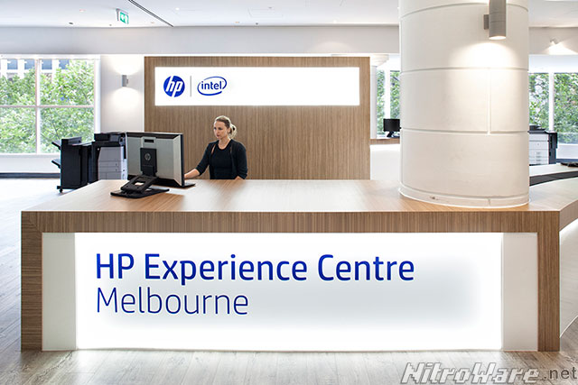 hp exprience centre melbourne showroom reception