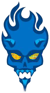 Intel Devils Canyon skull logo