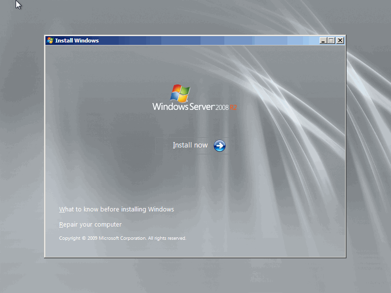 NitroWare net - How to install Windows Server 2008 R2 or Windows 7