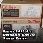 Edifier S-550 5.1 channel multimedia and gaming speaker system review