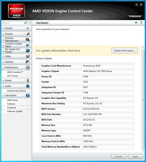 NitroWare net - Sapphire AMD Radeon HD 7950 OC Graphics Card and CPU