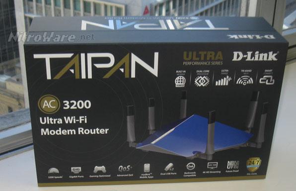 NitroWare net - Introducing the D-Link COBRA AC5300 Wave 2
